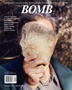 """Label"" featured in BOMB 118."
